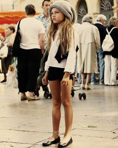 high fashion for little girls age 7 | Her name is Thylane Lena-Rose Blondeau and she's 10.