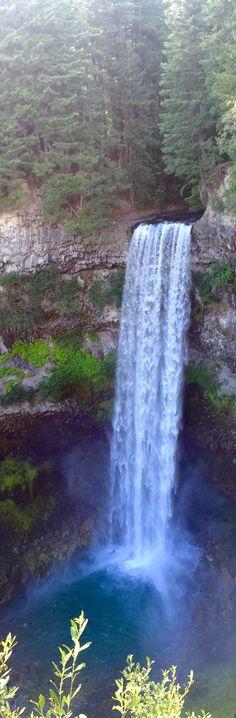 Brandywine Falls - a waterfall near Whistler, Canada via @rtwgirl
