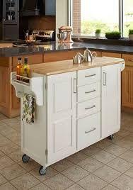 Compra en walmart isla de cocina m vil sauder original for Muebles de cocina moviles