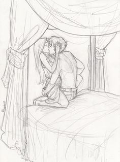 Watch it you two... Teddy and Victoire.