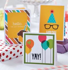 Score and cut to create a collection of chic birthday greetings in our July issue Hobbies And Crafts, Arts And Crafts, Paper Crafts, Pop Up Cards, Cool Cards, Birthday Greetings, Birthday Cards, Make Your Own Card, Party Pops