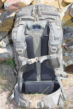 Tactical Tailor Extended Range Operator Pack, front/strap side.