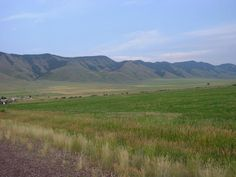 Countryside in western Wyoming