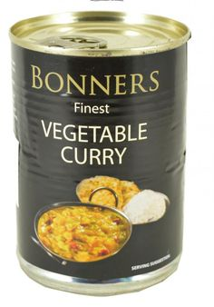 Bonners Finest Vegetable Curry