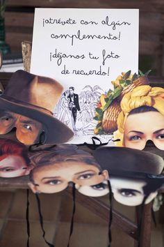 actors' masques