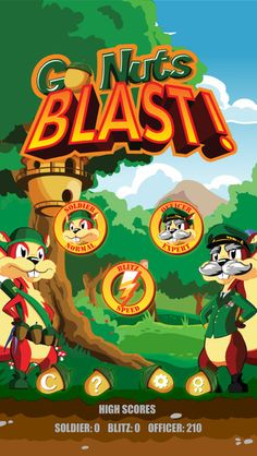 Go Nuts Blast An Addictive & Adventure iOS Game.  http://iosappspy.com/go-nuts-blast-an-addictive-adventure-ios-game/
