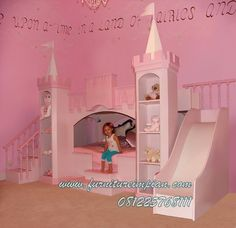 Girls Canopy Beds Princess Castle Bed Girls Princess Bed Sweetdreambed - Four poster canopy bed Girls Fairy Bedroom, Girls Canopy, Girls Bunk Beds, Kid Beds, Dream Bedroom, Castle Bedroom, Loft Beds, Canopy Beds, Childrens Bedroom