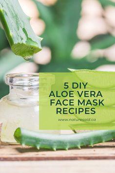 Diy Skin Care, Skin Care Tips, Beauty Tips, Beauty Hacks, Fresh Aloe Vera, Aloe Vera Face Mask, Simple Face, Skin Food, Natural Products