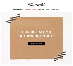 Madewell : Mystery Offer