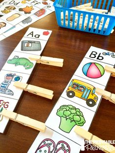 Super fun Beginning Sounds activity that's great for this time of year! Put stickers on the back to make it self-checkable.