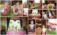 Spa Party...This would be perfect for when me and aunt Julie have all the little girl cousins over for a sleep over!!
