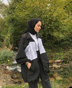 Modest Fashion Hijab, Casual Hijab Outfit, Muslim Fashion, Cute Casual Outfits, Modest Outfits, Fashion Outfits, Kawaii Clothes, Mode Hijab, Ikon