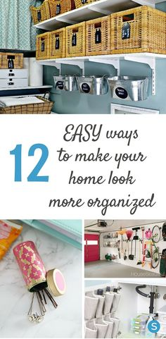 12 Easy Ways To Make Your Home Look More Organized Than It Really Is