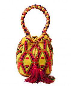 Yellow Medellin Mochila Bag