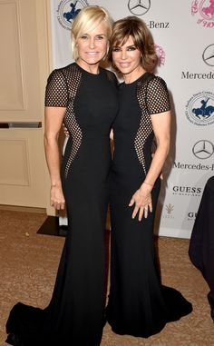 Real Housewives of Beverly Hills Stars Lisa Rinna and Yolanda Foster Wear Same Dress at Same Event