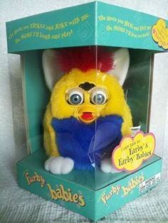 Furby BABIES - Yellow Body with Blue Belly and White Feet by Furby Babies, http://www.amazon.com/dp/B00AFH7JZW/ref=cm_sw_r_pi_dp_y7C9rb1TP2BKD