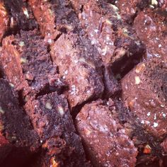 Gooey brownies made with fine dark chocolate Gooey Brownies, Treats, Chocolate, Baking, Dark, Desserts, Food, Sweet Like Candy, Tailgate Desserts