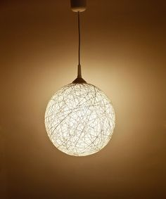 Handmade lamp, lighting, pendant light, hanging lamp, lamp shade, interior accent Winter Star II by FiligreeCreations on Etsy. $102.00, via Etsy.