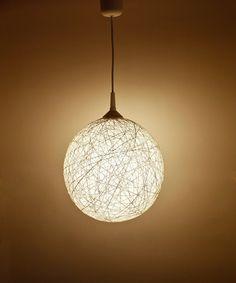 Handmade lamp, lighting, pendant light, hanging lamp, lamp shade, interior accent Winter Star II by FiligreeCreations on Etsy op Etsy, 77,02€