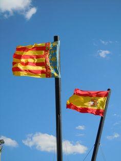 Banderas/Flags Valencia, Spain