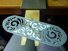Personalised cuff bracelet commission - Alexandra Buckle