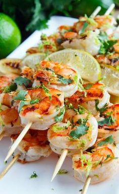 Cilantro Lime Grilled Shrimp... by ina