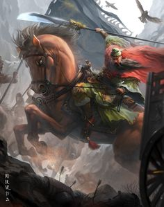 guan yu by ~henryz on deviantART