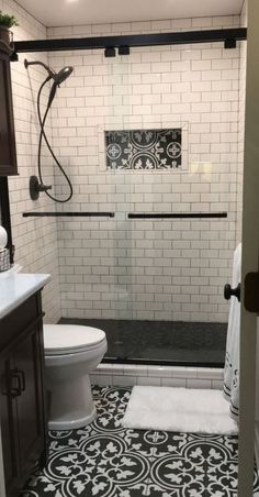 Bathroom Design Trends 2019 for Best ROI 2019 Small bathrooms are a great place to get creative! Here are the latest bathroom trends for The post Bathroom Design Trends 2019 for Best ROI 2019 appeared first on Shower Diy. Upstairs Bathrooms, Downstairs Bathroom, Bathroom Layout, Bathroom Bin, Shower Bathroom, Basement Bathroom Ideas, Large Bathrooms, Farmhouse Bathrooms, Master Bathrooms