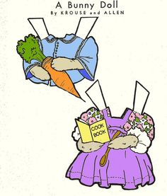 All sizes | Bunny Paperdoll - Part 2 | Flickr - Photo Sharing!
