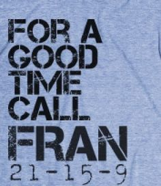 CROSSFIT: for a good time, call Fran -