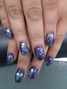 Hot summer Nights Nails Galaxy Nails