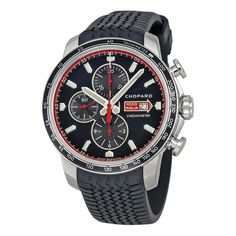 a9fd4c4e606 Chopard Mille Miglia GTS Chronograph Black Dial Men s Watch 168571-3001