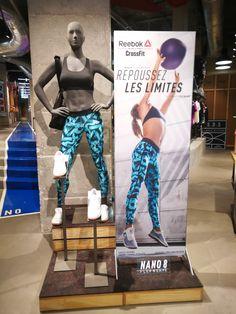 Reebok La Salle de Sport Paris - launch zone  reebok  womens  retail   visualmerchandising  vm  mannequin  retailenvironment  storelayout. TRC Ltd 7d327cca9