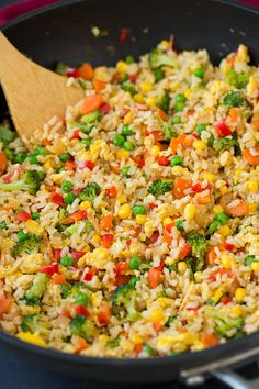 Very Veggie Fried Rice | Cooking Classy