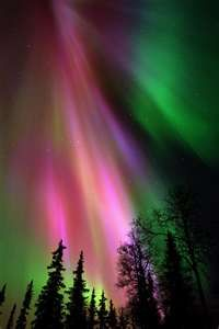 Watching the northern lights