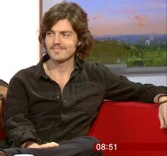 Oh my Actual God Tom Burke! — God I love BBC iPlayer… Moustache and goatee...