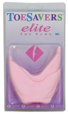 Danztech Elite Toe Pads Ballet Dance Gelastic Pad Cushion Ballerina Training  #Danztech