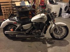 1996 Honda Shadow VT1100C2 Ace.  Windshield removed