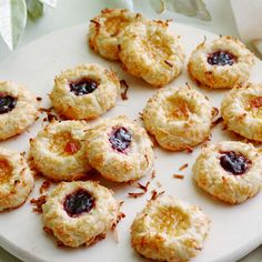 Jam Thumbprint Cookies By Ina Garten