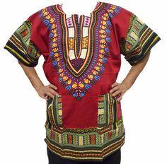 3bc6fd17a203a Dashiki Vintage Men Shirt Poncho African India Ethnic Hippie Unisex Tops  Blouses #Hippie #Dashiki