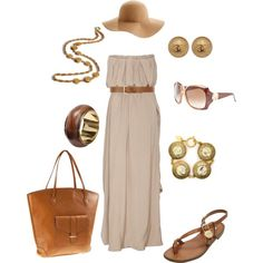 Vacation Outfit, except for the hat!