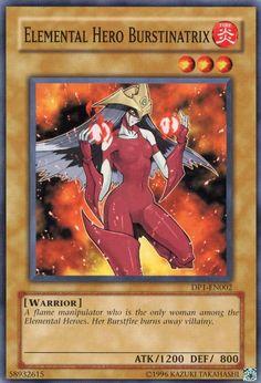 Elemental HERO Burstinatrix by on DeviantArt Yu Gi Oh, Rare Yugioh Cards, Pokemon Dragon, Yugioh Monsters, Sombre, Cute Cartoon Wallpapers, Name Cards, Digimon, Female Characters