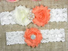 Check out this item in my Etsy shop https://www.etsy.com/listing/261753166/peach-wedding-garter-bridal-garter