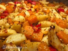 Nieuwe recept: Aardappel roast met pompoen
