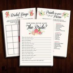 Bridal Shower Tea Party Invitations by JDavidProductions on Etsy