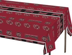Creative Converting South Carolina Gamecocks Plastic Banquet Table Cover -- Check out the image by visiting the link.