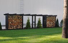 Pomysł na drewutnię - drewutnia jako element ogrodzenia