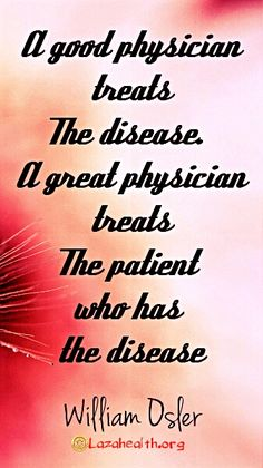 It's hard to find great physicians. So far I've been lucky enough to find several. It took a lot to get there though.