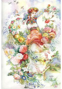 Украинская художница Надежда Старовойтова. Обсуждение на LiveInternet - Российский Сервис Онлайн-Дневников