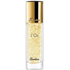 Guerlain L'Or Radiance Concentrate/1 Oz. ($74) ❤ liked on Polyvore featuring beauty products, skincare, face care, beauty, gold, serums and oils, guerlain skin care, guerlain skincare and guerlain